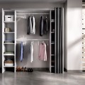 Vestidor Suit doble a medida con cortina en color blanco