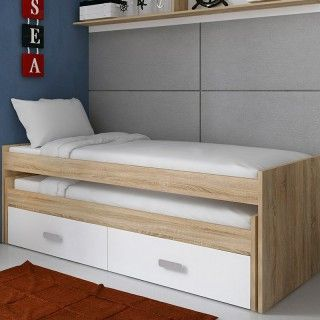 Cama doble compacta aries plus transporte gratis comprar for Cama compacta oferta