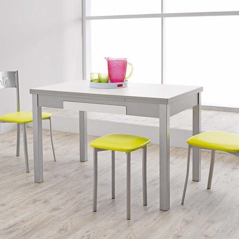 Mesa cocina marta comprar mesa de cocina barata fanmuebles for Mesas de cocina extensibles con cajon