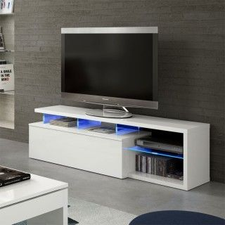 Mueble salón BLUE TECH LED modulo TV