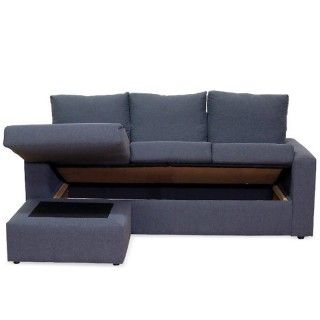 Sofá Chaiselongue Reversible Nantes Turrón