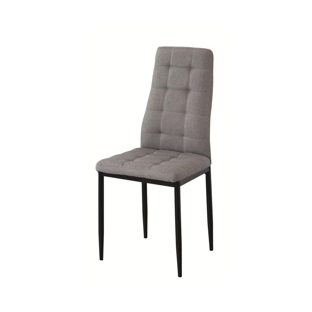 Pack 4 sillas sal n comedor sonia sillas tapizadas baratas - Sillas para salones ...