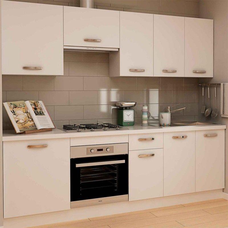 Muebles de cocina toledo color blanco en fanmuebles cocinas baratas - Frentes de cocina baratos ...