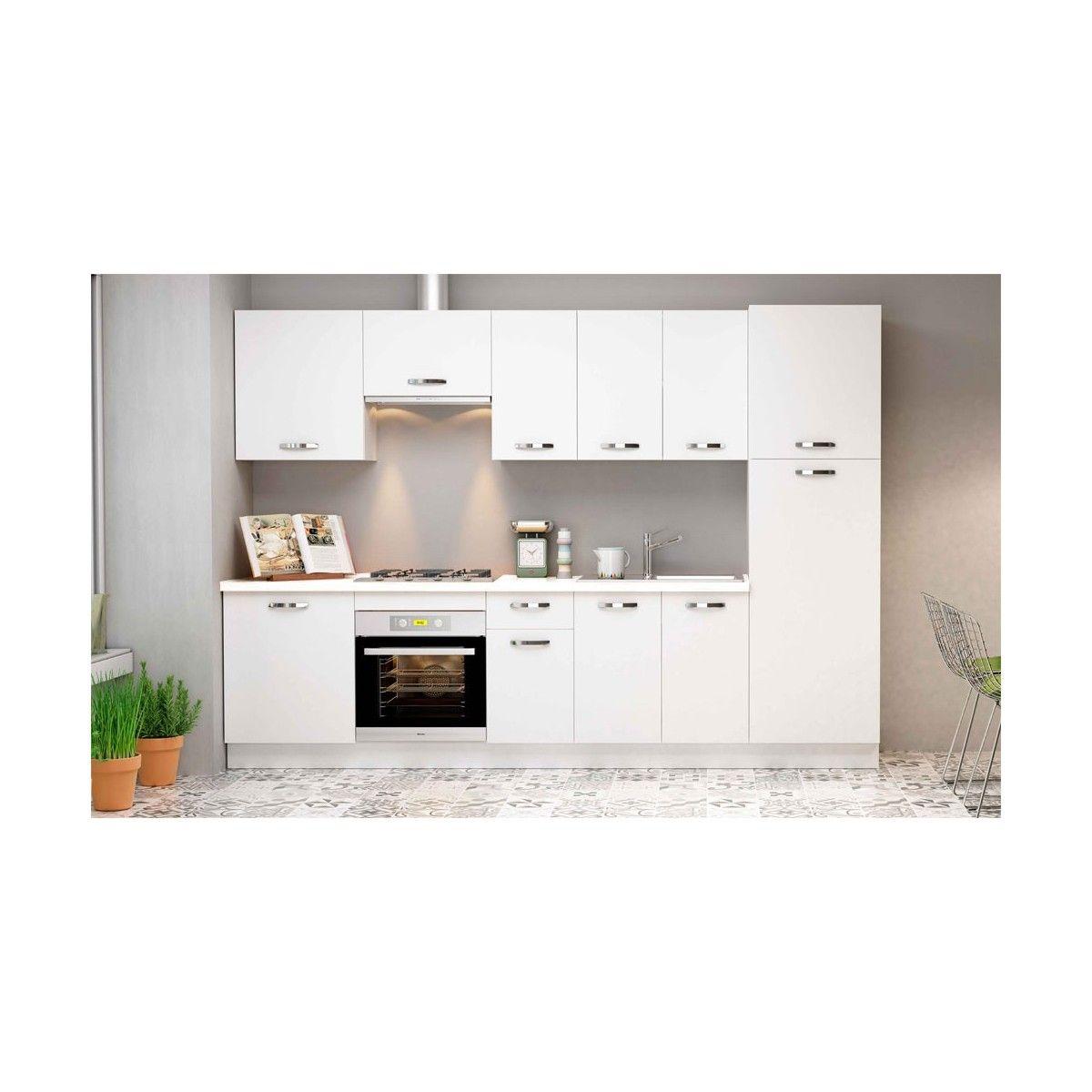 Muebles de cocina baratos MARTA en color blanco |Muebles ...