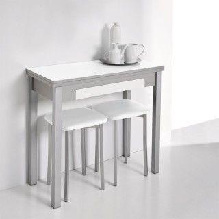 Mesa de cocina libro MARTA con cajón