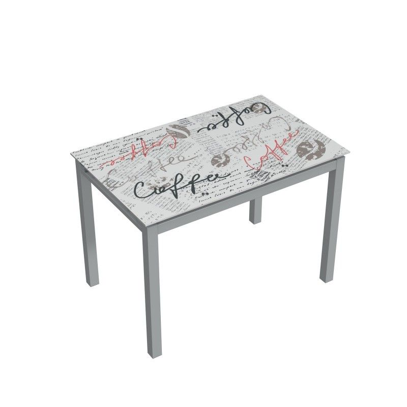 Mesa de cocina cristal extensible BISBE TABLE COFFEE