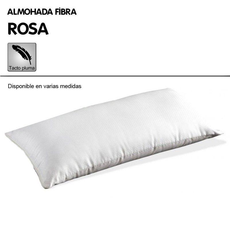 Almohada fibra ROSA