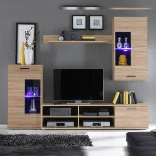 Mueble de salon barato ECONOMY frontal