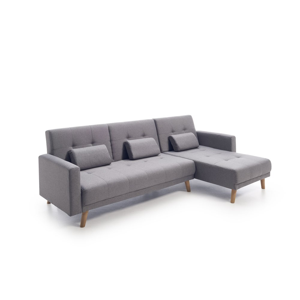 Sofá cama chaise longue Asturias | Sofás cama baratos