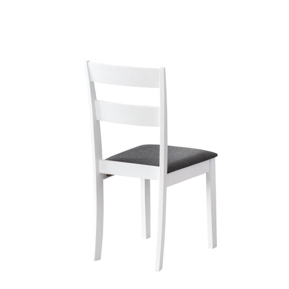sillas de comedor de madera blanca