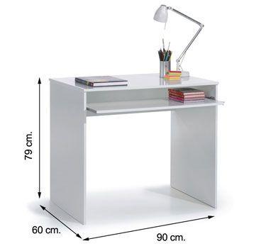002314BO mesa escritorio iJOY blanco brillo