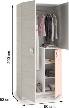 0M7448Y Armario NEW NUBE habitación juvenil