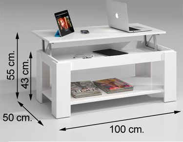 001639BO mesa de centro elevable AMBIT