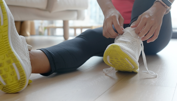 Cálzate las zapatillas y haz deporte en casa