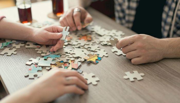 Haz un puzzle