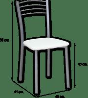 Medida silla cocina 20
