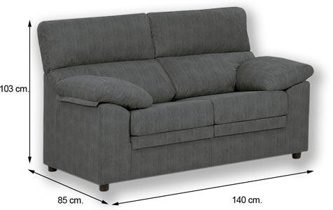 Sof extraible 2 plazas miri marengo comprar sofa barato for Medidas sofa 3 plazas