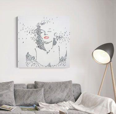 Ambiente cuadro Marilyn