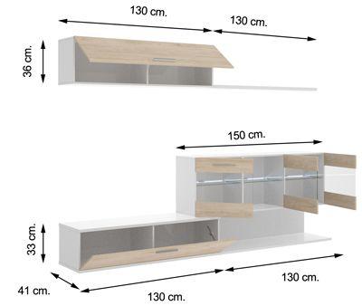 Mueble de salon HAN